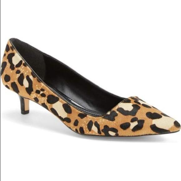 9198f9199041 Charles David Shoes - Charles by Charles David Drew Leopard Kitten Heels